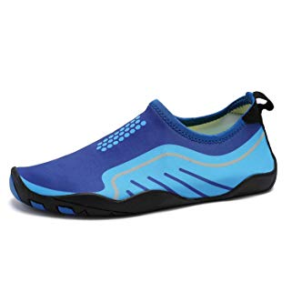 Kitleler Water Shoes for Men Women Barefoot Quick-Dry Aqua with Drainage Hole for Beach Yoga Swimming
